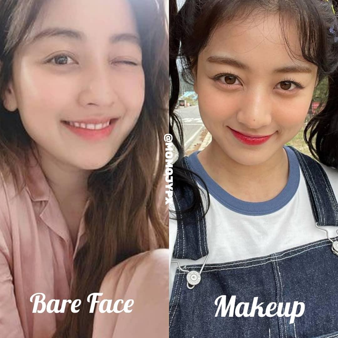 Twice mặt mộc Twice khi rũ bỏ lớp son phấn: Tzuyu kém sắc hẳn, Sana xinh mê nhưng vẫn lộ khuyết điểm - Ảnh 6.