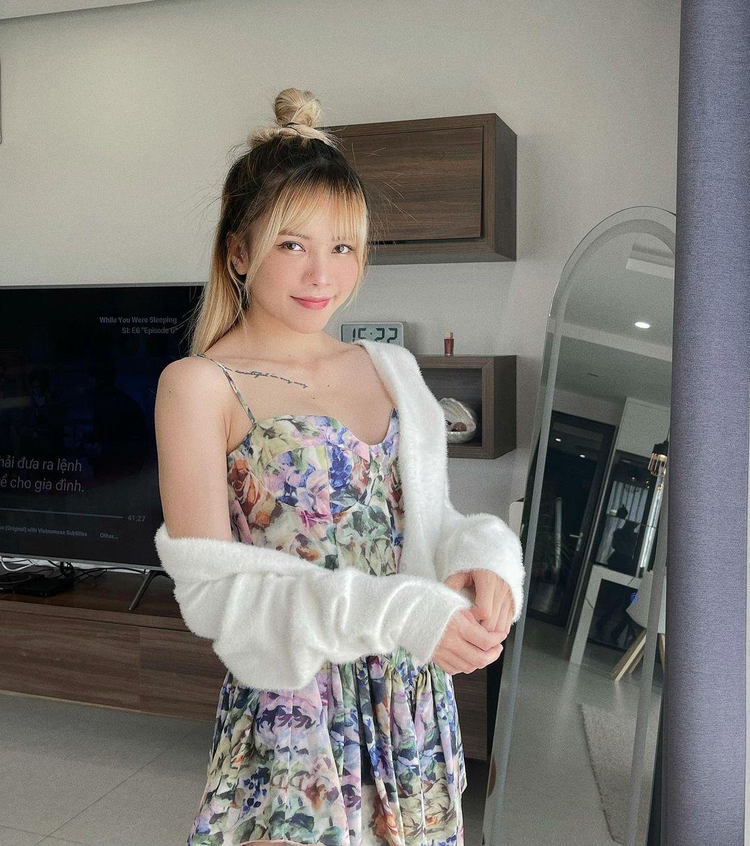 """Thiều Bảo Trâm Jennie Váy Jennie mặc từng bị chê xấu thảm họa nay Thiều Bảo Trâm cosplay lại nhưng """"lệch sóng"""" toàn tập - Ảnh 3."""