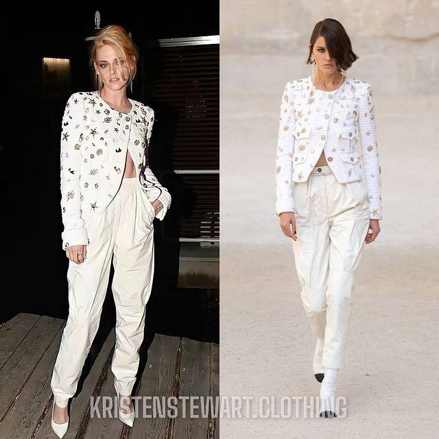 """Chanel phải thầm cảm ơn Kristen Stewart vì mặc """"đồ ngủ"""" mà vẫn đẹp điên lên  - Ảnh 7."""