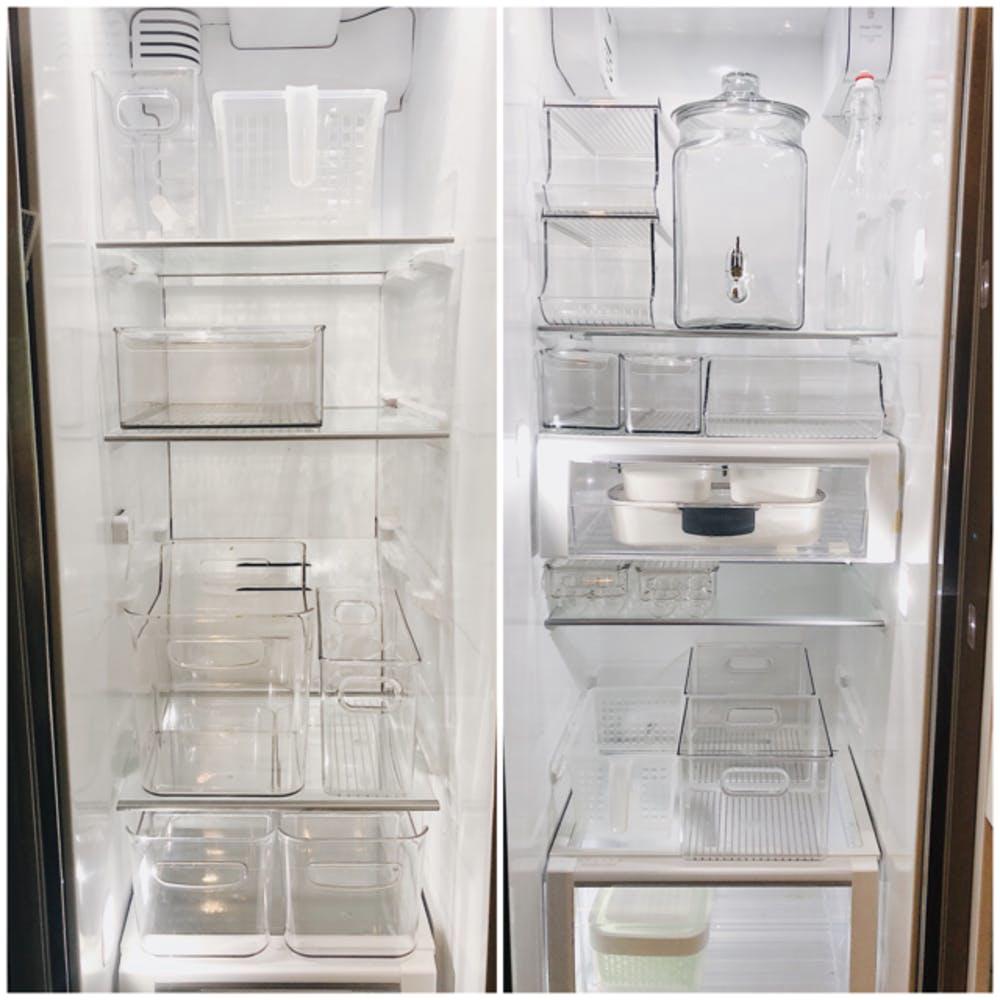 """6 bước đơn giản giúp bà mẹ 4 con """"hóa giải"""" chiếc tủ lạnh chật ních thành gọn gàng, thông thoáng trong những ngày giãn cách ở nhà - Ảnh 4."""
