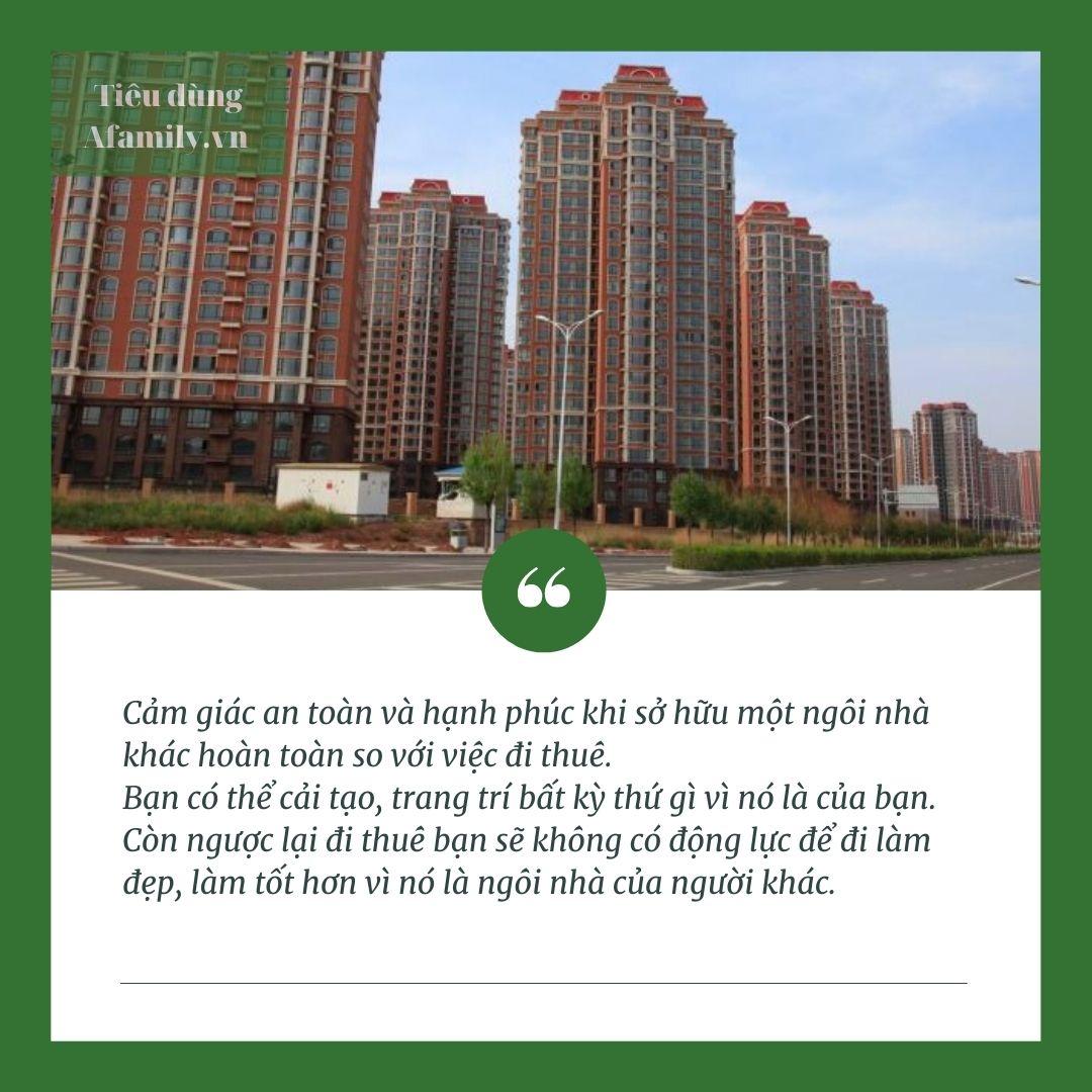 Bà chủ có chín dãy phòng cho thuê ở Thủ đô khuyên người trẻ hãy tiết kiệm để mua nhà, đó là khoản đầu tư có lợi nhất - Ảnh 3.