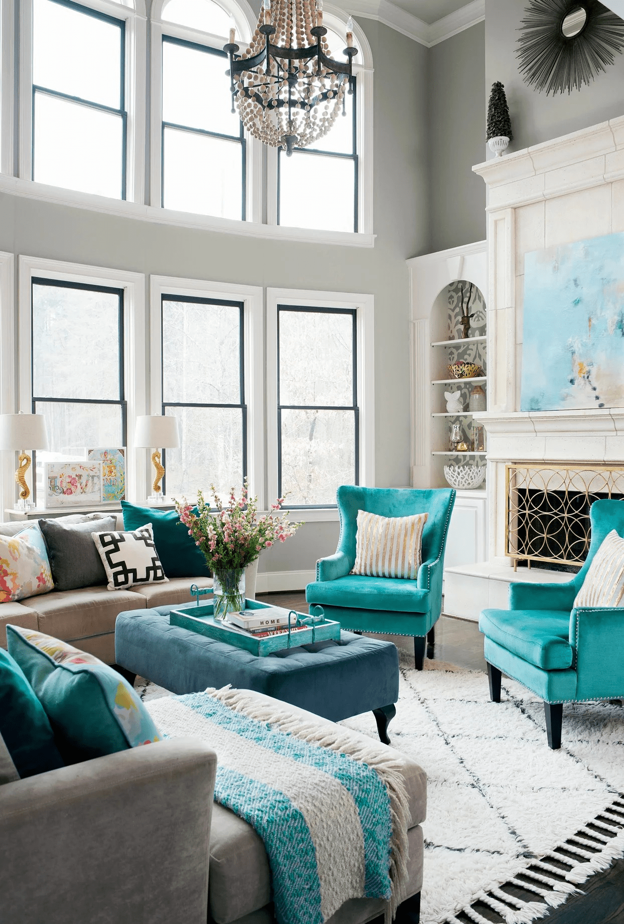 Sofa nhiều màu sắc tạo điểm nhấn nổi bật cho không gian sống hiện đại - Ảnh 1.