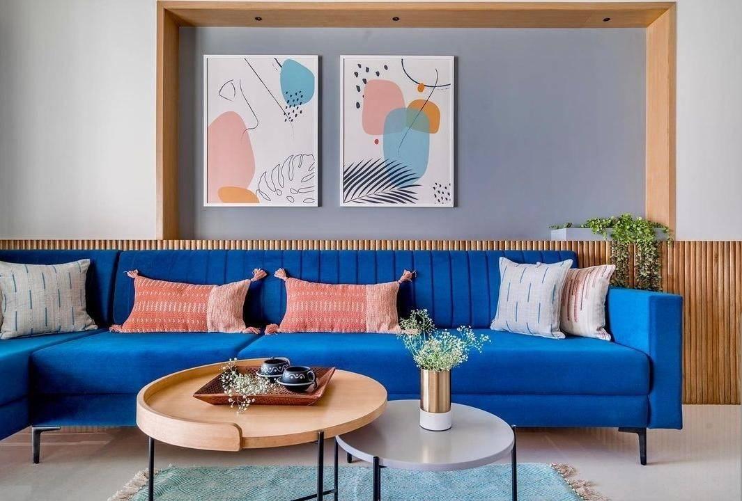 Sofa nhiều màu sắc tạo điểm nhấn nổi bật cho không gian sống hiện đại - Ảnh 6.