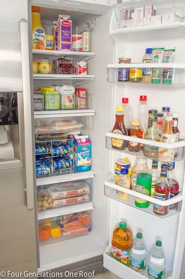 Chỉ với 2 tiếng, tôi đã làm cách này để giữ cho tủ lạnh của mình sạch sẽ và ngăn nắp tức thì - Ảnh 4.