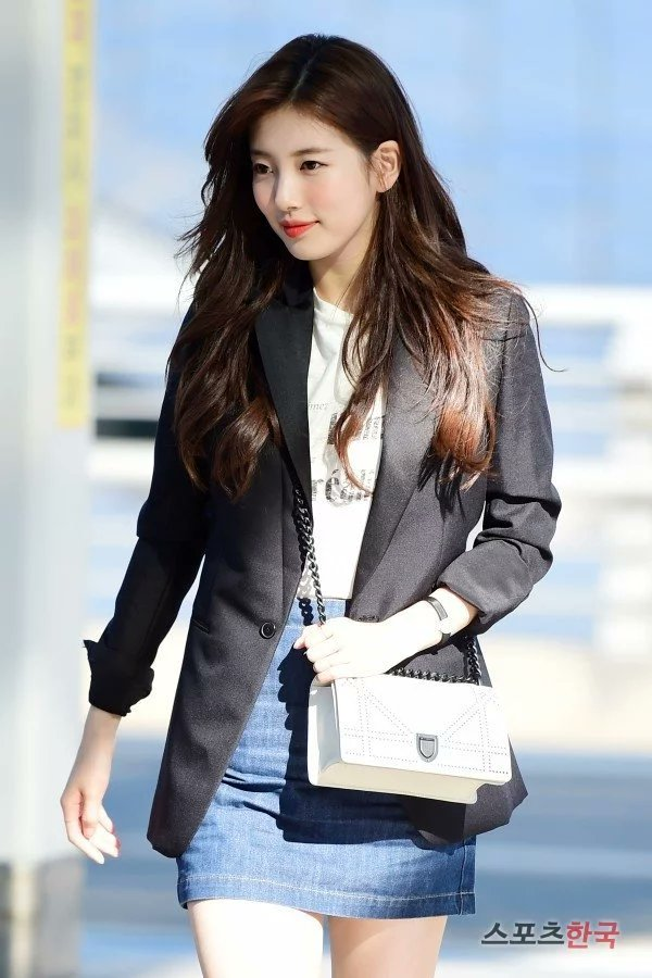 Suzy bao năm chỉ trung thành với style tối giản, nhờ vậy mà luôn ghi điểm phong cách - Ảnh 10.