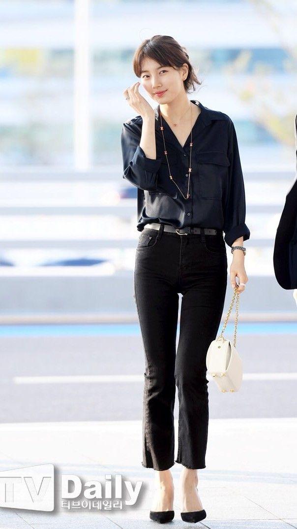 Suzy bao năm chỉ trung thành với style tối giản, nhờ vậy mà luôn ghi điểm phong cách - Ảnh 11.