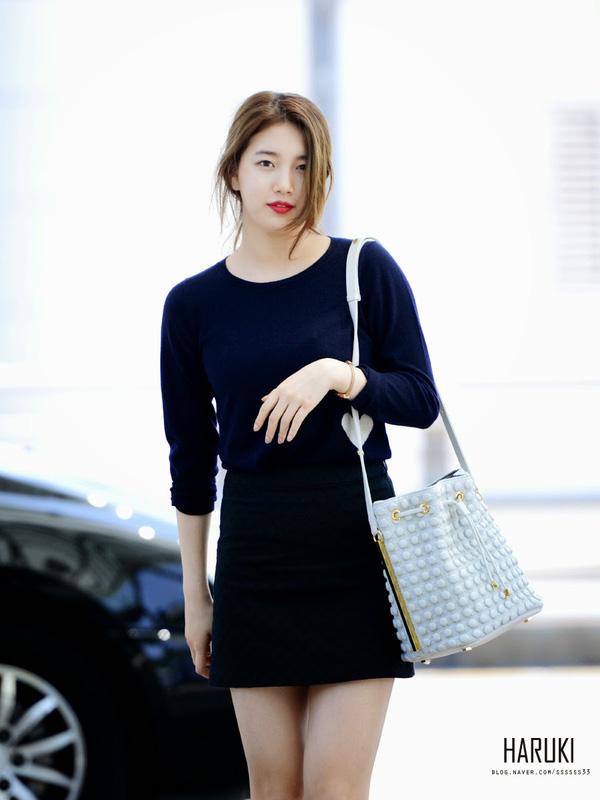 Suzy bao năm chỉ trung thành với style tối giản, nhờ vậy mà luôn ghi điểm phong cách - Ảnh 14.