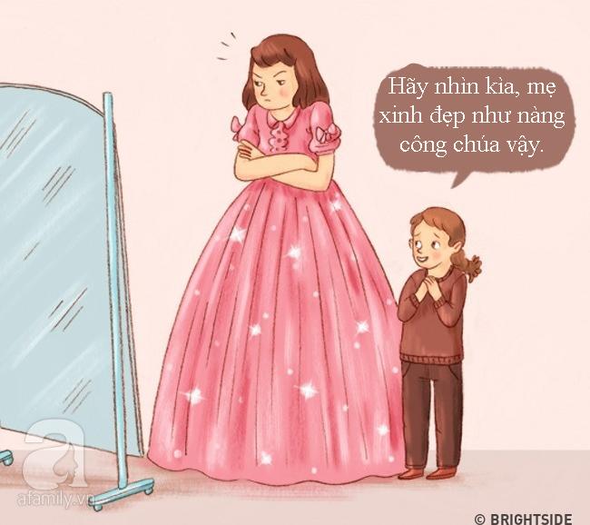 Tranh vui: Khi bố mẹ trở thành con, đi chơi về muộn, lười ăn, ngồi lì xem TV... - Ảnh 10.