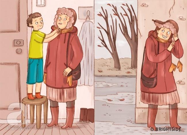 Tranh vui: Khi bố mẹ trở thành con, đi chơi về muộn, lười ăn, ngồi lì xem TV... - Ảnh 9.