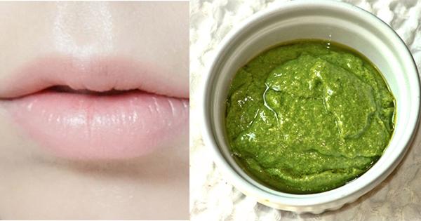 Giã nát rau này rồi bôi lên môi, dù môi thâm bẩm sinh hay do mỹ phẩm cũng hồng hào căng mọng ngay - Ảnh 3.
