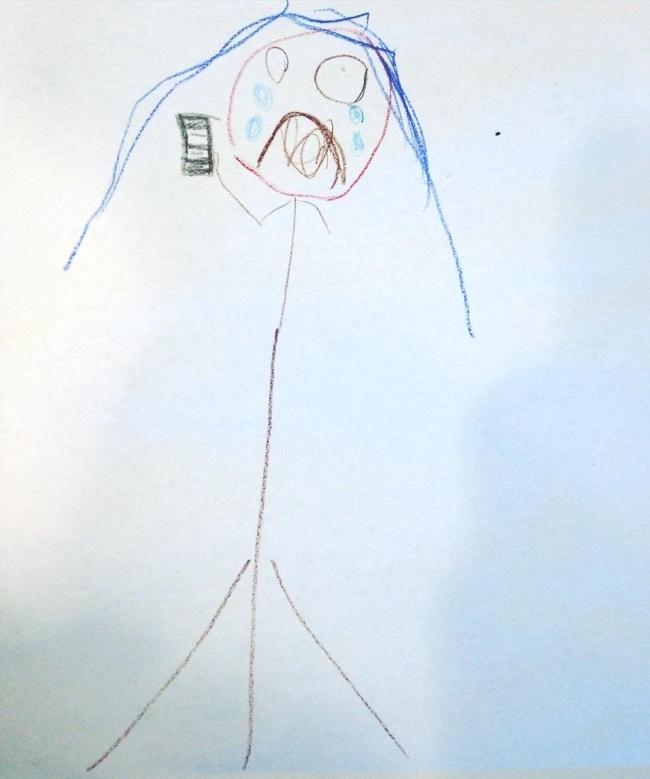 Cười không nhặt được mồm khi đoán ý nghĩa tranh vẽ của các họa sĩ nhí - Ảnh 13.