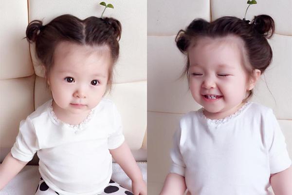 Những cách tạo kiểu với tóc ngắn đáng yêu đến lịm người cho bé gái - Ảnh 25.