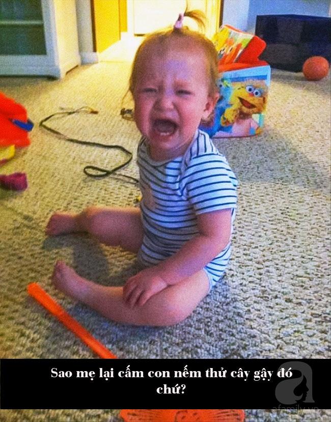 """Lý do ăn vạ kiểu """"trời ơi đất hỡi"""" của trẻ mà cha mẹ chỉ biết cười ra nước mắt - Ảnh 10."""