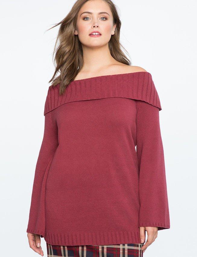 Gợi ý 13 mẫu áo dài tay mùa Thu/Đông tới dành riêng cho những nàng ngoại cỡ - Ảnh 12.