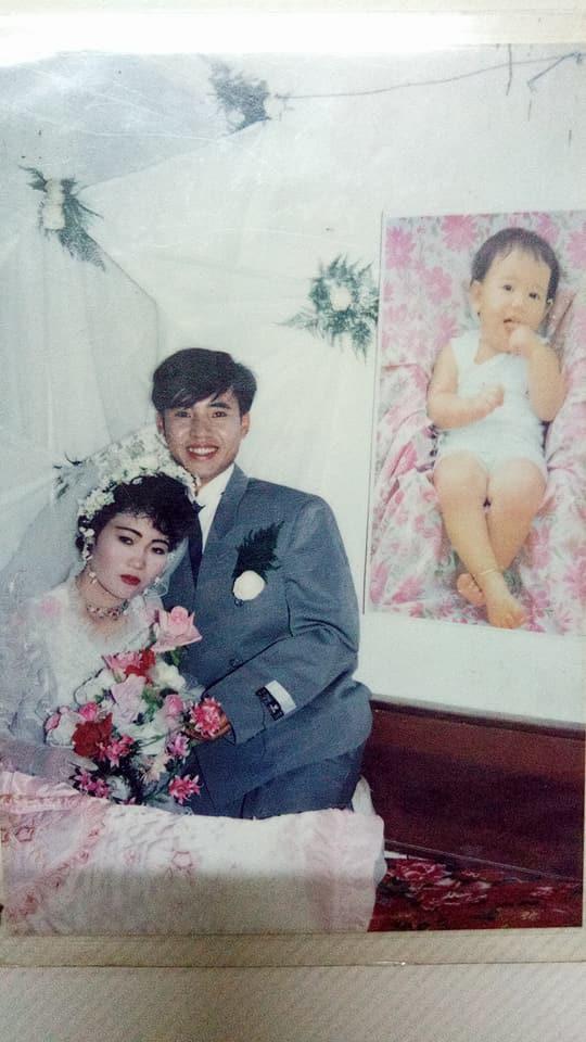 Đám cưới chất chơi thời bố mẹ anh thập niên 90: Pháo nổ râm ran, cả làng chạy theo cô dâu chú rể - Ảnh 14.