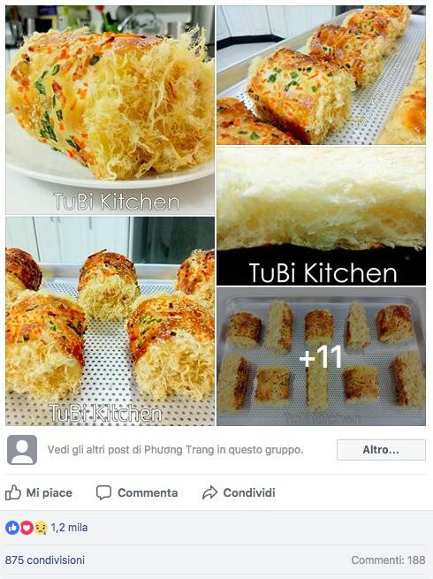 Học ngay cách làm bánh mì chà bông ngàn like của mẹ 8x siêu đảm - Ảnh 1.