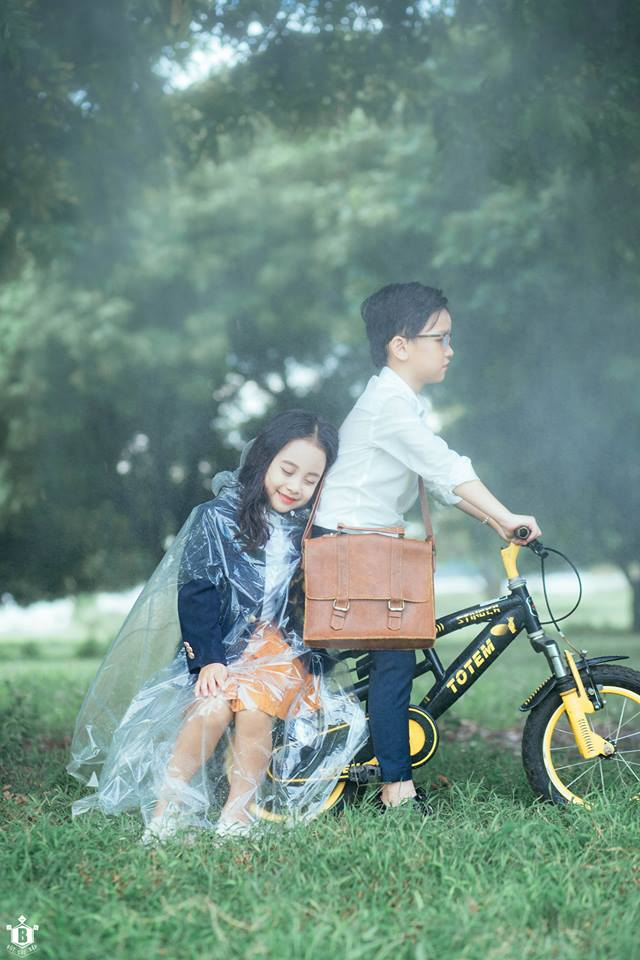 Truy lùng danh tính cặp đôi Em gái mưa phiên bản nhí trong bộ ảnh đang gây bão táp mạng xã hội - Ảnh 15.