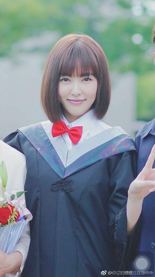 Đường Yên trẻ trung, xinh xắn trong ngày tốt nghiệp đại học - Ảnh 1.