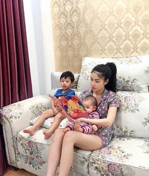 Thủy Anh - vợ ca sĩ Đăng Khôi, cựu hot girl đình đám một thời nay đã thành mẹ 2 con sang chảnh - Ảnh 17.