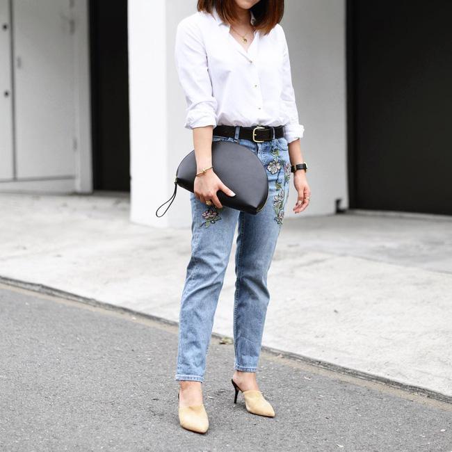 5 kiểu áo hè cứ diện cùng jeans/legging là chỉ có đẹp trở lên - Ảnh 8.