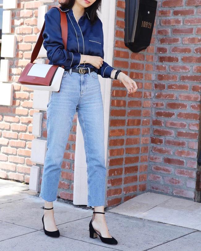 5 kiểu áo hè cứ diện cùng jeans/legging là chỉ có đẹp trở lên - Ảnh 9.