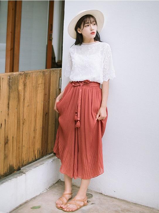 Hè này chân váy toàn những mẫu đã đẹp còn điệu khiến các nàng chẳng thể làm ngơ - Ảnh 19.