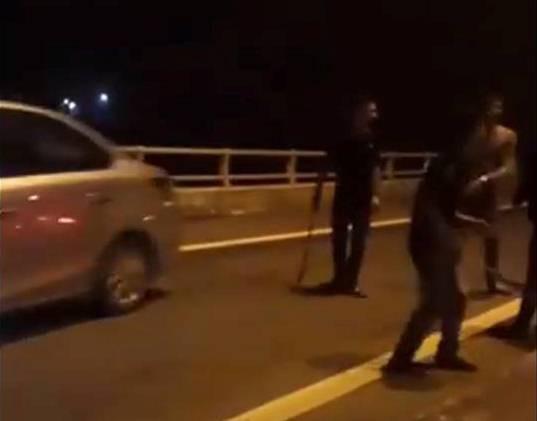 Phú Thọ: 11 thanh niên mang hung khi lên cao tốc chặn xe xin đểu người về quê nghỉ Tết - Ảnh 5.