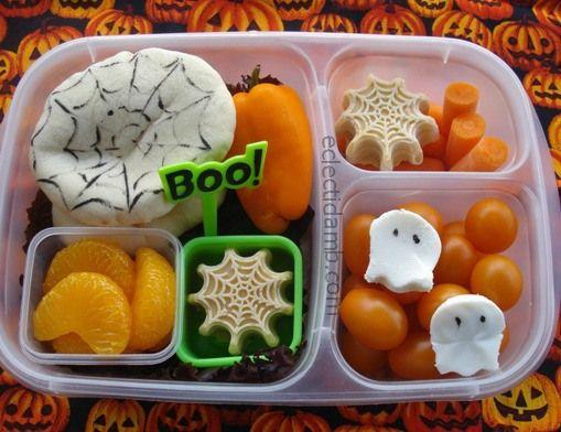 Những hộp cơm bento cho trẻ theo chủ đề Halloween vô cùng đáng yêu - Ảnh 16.