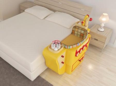 Giường cũi thông minh - món đồ nội thất bà mẹ nào có con nhỏ cũng thích - Ảnh 6.