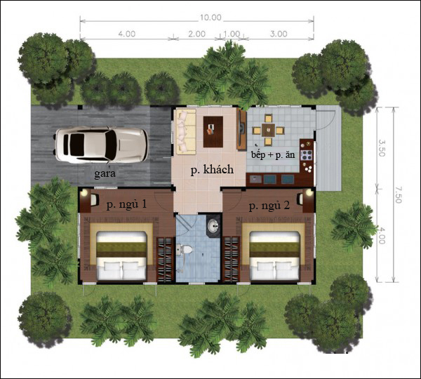 Chẳng cần cao tầng, 9 ngôi nhà 1 tầng này cũng đủ khiến bạn hài lòng về cả thiết kế lẫn công năng - Ảnh 6.