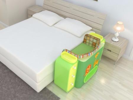 Giường cũi thông minh - món đồ nội thất bà mẹ nào có con nhỏ cũng thích - Ảnh 3.