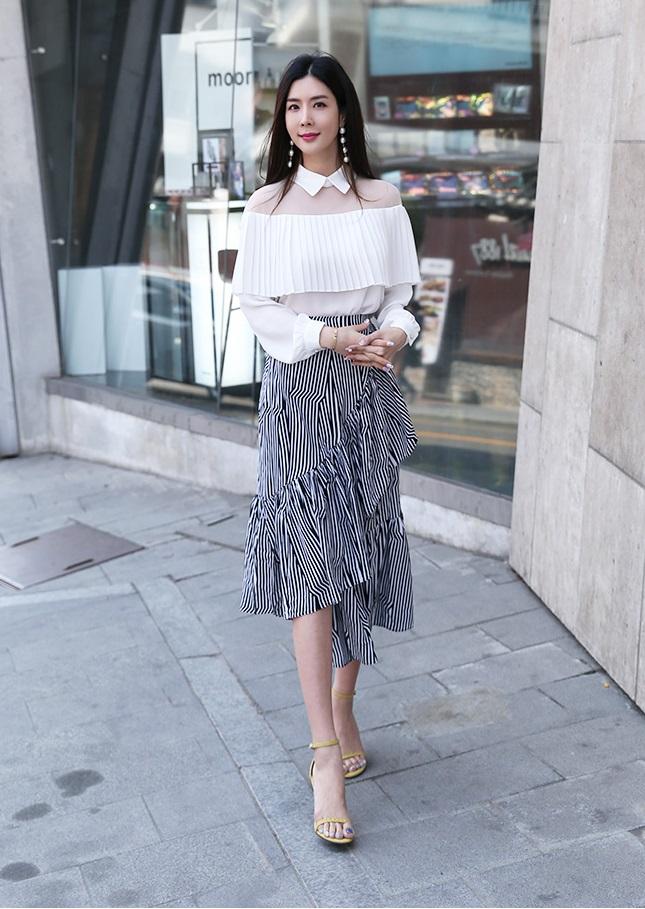 Hè này chân váy toàn những mẫu đã đẹp còn điệu khiến các nàng chẳng thể làm ngơ - Ảnh 5.
