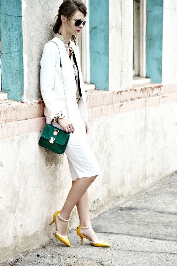 Giày cao gót và những quy tắc kết hợp màu sắc chuẩn chỉnh cùng trang phục - Ảnh 15.