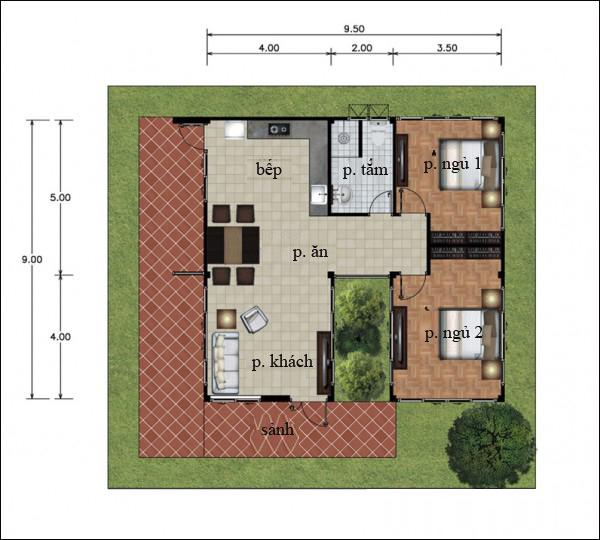 Chẳng cần cao tầng, 9 ngôi nhà 1 tầng này cũng đủ khiến bạn hài lòng về cả thiết kế lẫn công năng - Ảnh 8.
