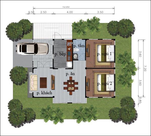 Chẳng cần cao tầng, 9 ngôi nhà 1 tầng này cũng đủ khiến bạn hài lòng về cả thiết kế lẫn công năng - Ảnh 10.