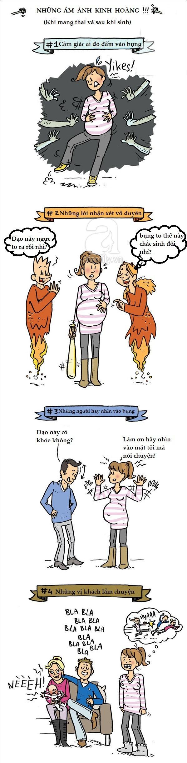 Bộ tranh hài hước phơi bày sự thật trần trụi của các bà mẹ khi mang thai và sau sinh - Ảnh 5.