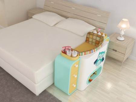 Giường cũi thông minh - món đồ nội thất bà mẹ nào có con nhỏ cũng thích - Ảnh 12.