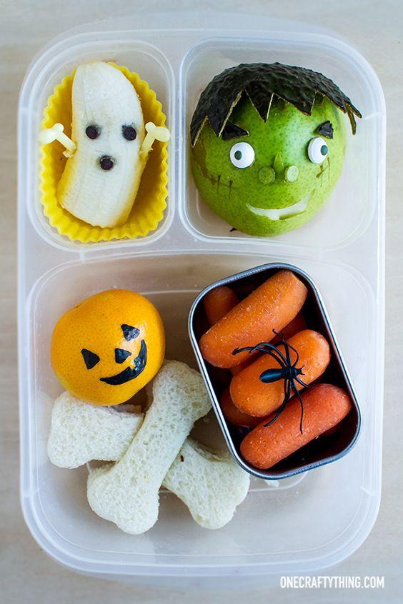 Những hộp cơm bento cho trẻ theo chủ đề Halloween vô cùng đáng yêu - Ảnh 10.