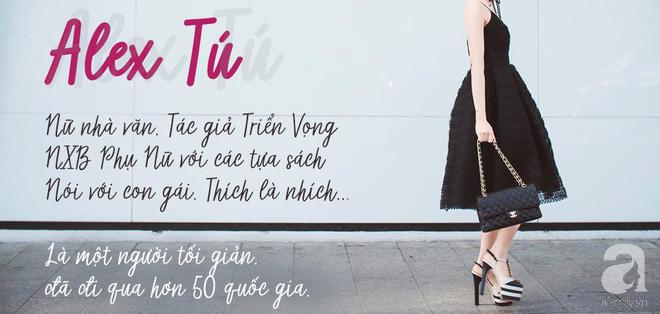 10 bí mật thú vị của Alex Tú - Nữ nhà văn du lịch 50 quốc gia với phong cách tối giản thời thượng - Ảnh 1.