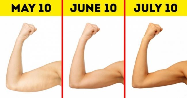 Bài tập giúp bạn nhanh chóng sở hữu cánh tay săn chắc khỏe mạnh như siêu mẫu - Ảnh 1.