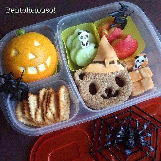 Những hộp cơm bento cho trẻ theo chủ đề Halloween vô cùng đáng yêu - Ảnh 18.