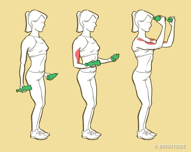 Bài tập giúp bạn nhanh chóng sở hữu cánh tay săn chắc khỏe mạnh như siêu mẫu - Ảnh 2.