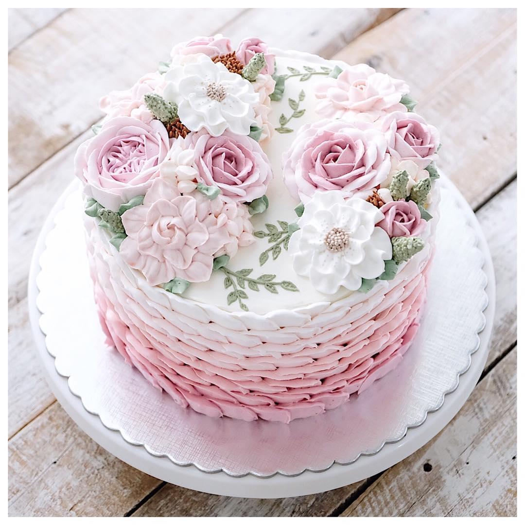 hoa-va-banh-sinh-nhat-happy-birthday