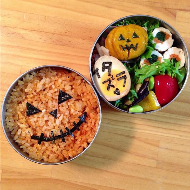 Những hộp cơm bento cho trẻ theo chủ đề Halloween vô cùng đáng yêu - Ảnh 13.