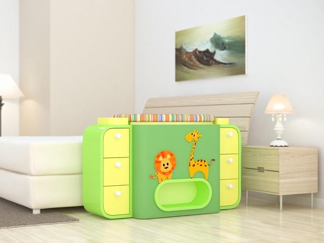 Giường cũi thông minh - món đồ nội thất bà mẹ nào có con nhỏ cũng thích - Ảnh 1.