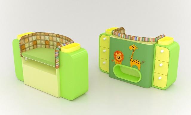 Giường cũi thông minh - món đồ nội thất bà mẹ nào có con nhỏ cũng thích - Ảnh 2.