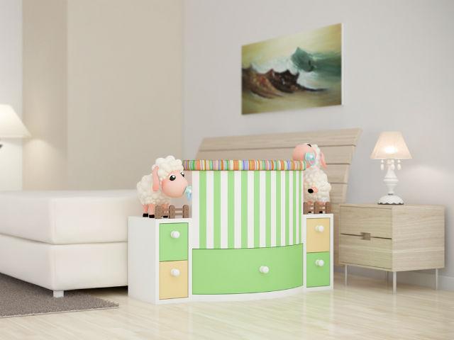 Giường cũi thông minh - món đồ nội thất bà mẹ nào có con nhỏ cũng thích - Ảnh 16.