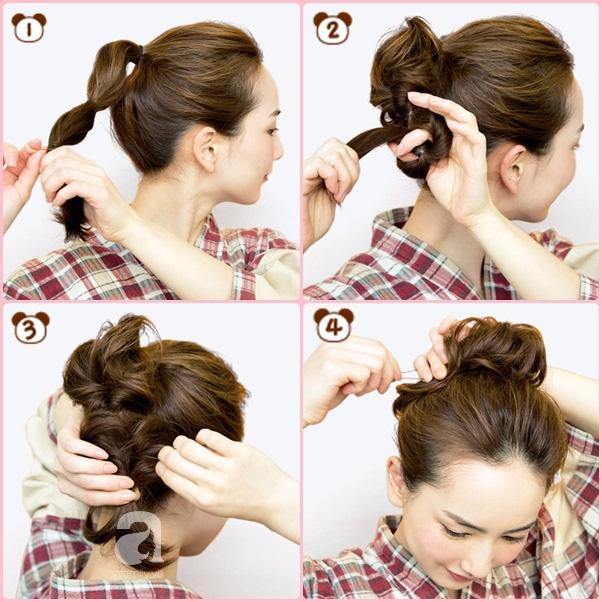 """Búi tóc sao cho khéo: Mách nước ngay 5 kiểu """"xiêu lòng chàng"""" từ nghệ nhân trang điểm tóc Nhật Bản hàng đầu - Ảnh 4."""