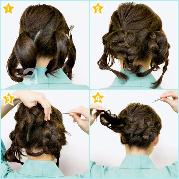 """Búi tóc sao cho khéo: Mách nước ngay 5 kiểu """"xiêu lòng chàng"""" từ nghệ nhân trang điểm tóc Nhật Bản hàng đầu - Ảnh 6."""