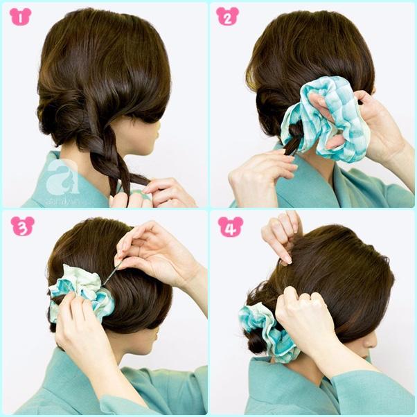 """Búi tóc sao cho khéo: Mách nước ngay 5 kiểu """"xiêu lòng chàng"""" từ nghệ nhân trang điểm tóc Nhật Bản hàng đầu - Ảnh 8."""